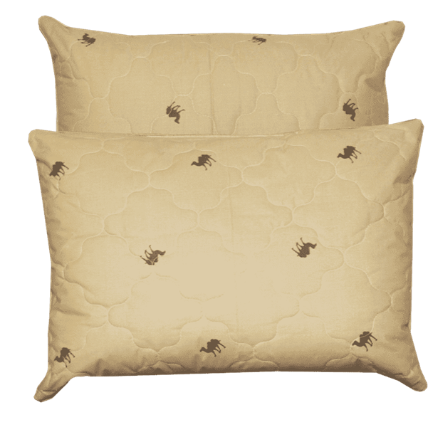Подушка на верблюжей шерсти - фото 4687
