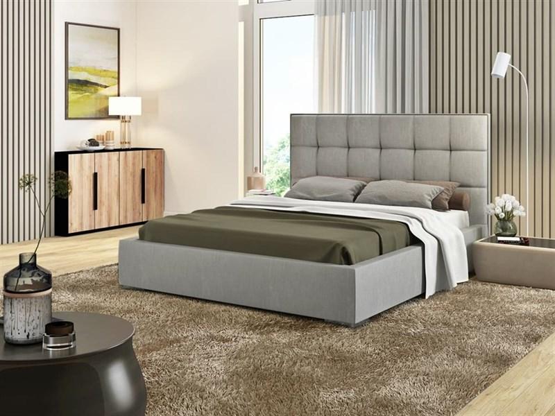 """Интерьерная кровать Люкс, основание """"решетка"""" - фото 4793"""