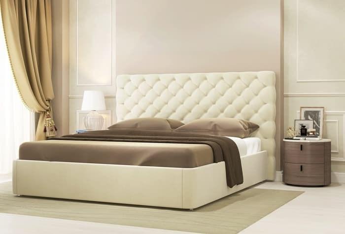 Интерьерная кровать Эстель, основание решетка - фото 4798