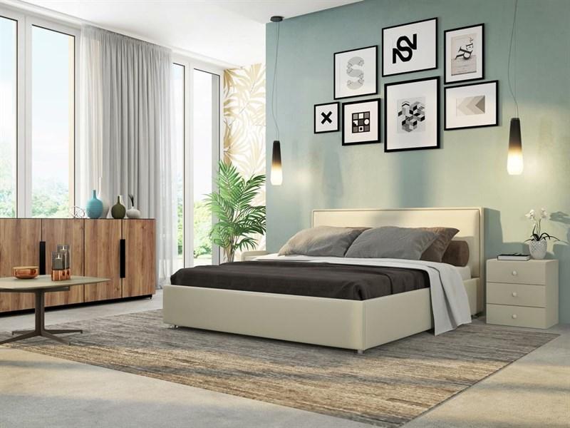 Интерьерная кровать Нэнси, основание решетка - фото 5031