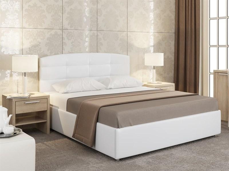 Интерьерная кровать Мишель, основание решетка - фото 5035