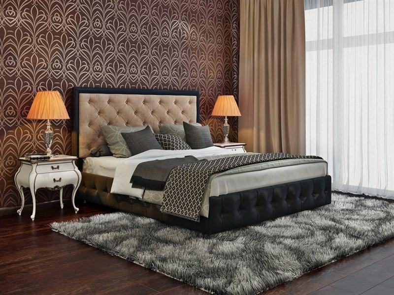"""Интерьерная кровать Вирджиния, основание """"решетка"""" - фото 5056"""