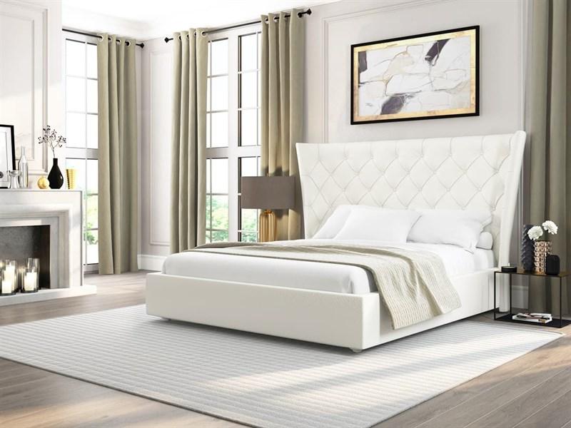 """Интерьерная кровать Ника, основание """"решетка"""" - фото 5064"""
