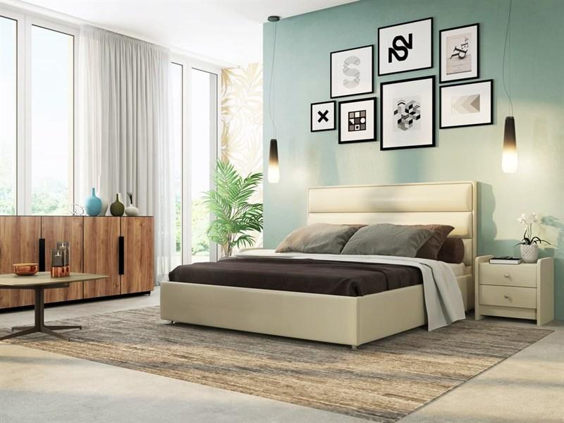 Интерьерная кровать Веста, основание решетка - фото 5108