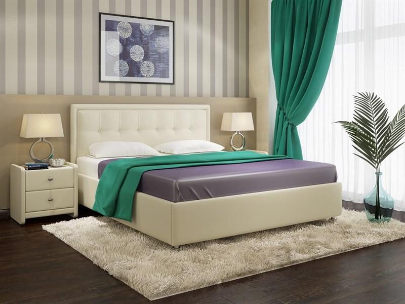 Интерьерная кровать Амелия, основание решетка - фото 5120