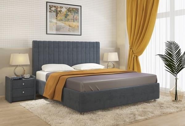 Интерьерная кровать Сенатор, подъемный механизм - фото 5201