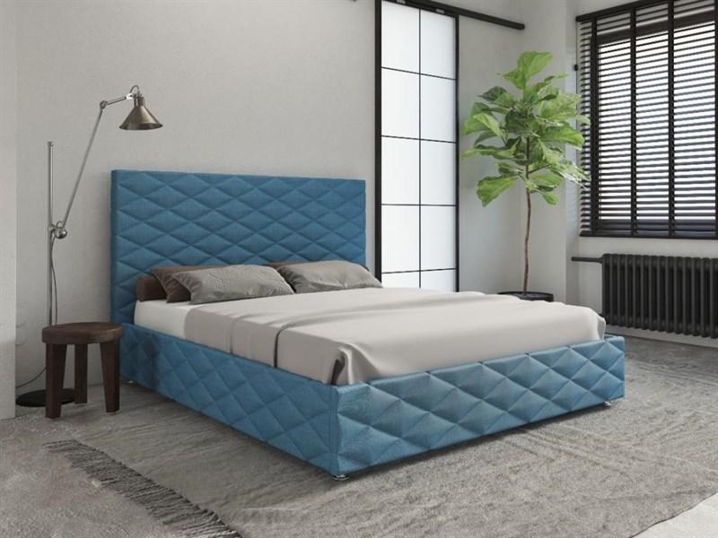 Интерьерная кровать Виолетта, основание решетка - фото 5206