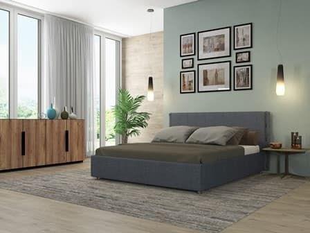 Интерьерная кровать Виктория, основание решетка - фото 5222