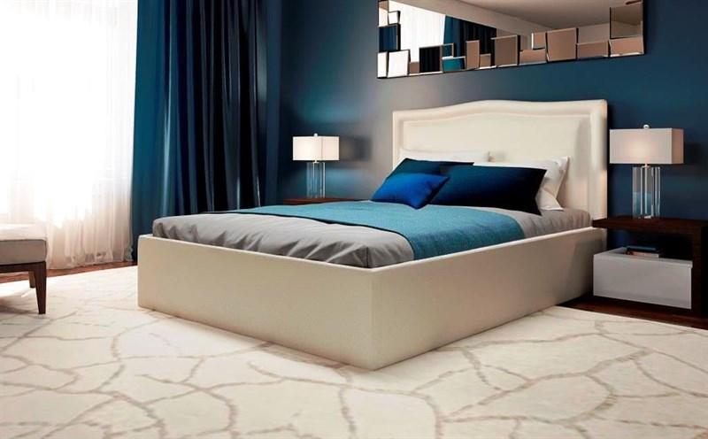 Интерьерная кровать Бруно, основание решетка - фото 5246