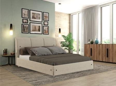 Интерьерная кровать Жардин, основание решетка - фото 5263