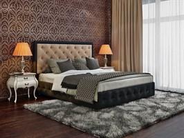 """Интерьерная кровать Вирджиния, основание """"решетка"""""""