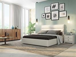 Интерьерная кровать Веста, основание решетка