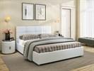 Интерьерная кровать Жаклин, основание решетка - фото 5018