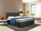 Интерьерная кровать Афина, основание решетка - фото 5180